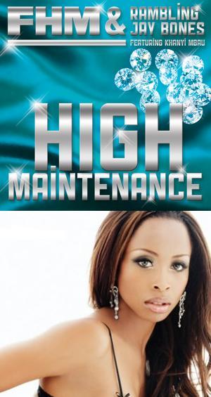 Khanyi Mbau Is HIGH MAINTENANCE