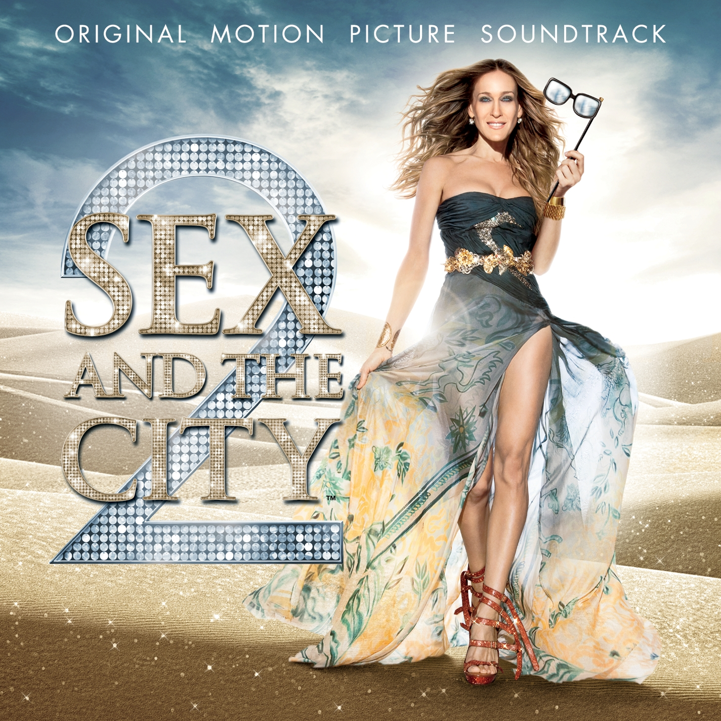 ... on the cover of the Sex and the City Soundtrack out on the 24th May