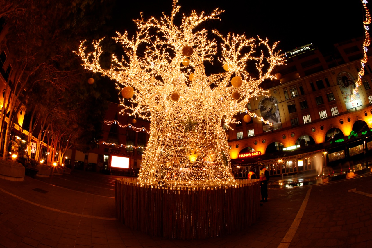 Decorations For Christmas In Ghana : Spotted at nelson mandela square mika stefano s
