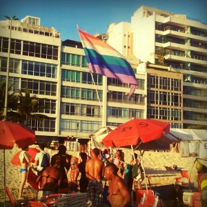 gay beach ipanema