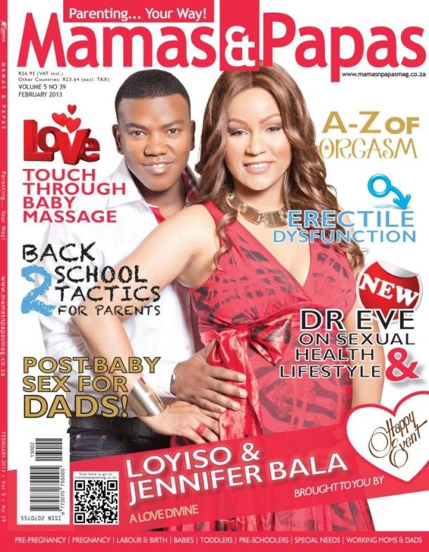 Loyiso and Jen Bala
