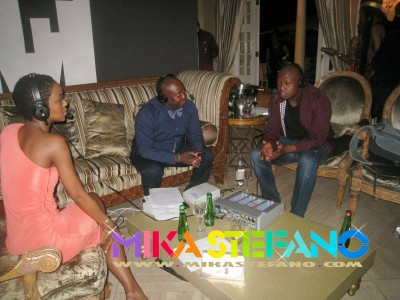 Sphe and Naves interviewing Nandi