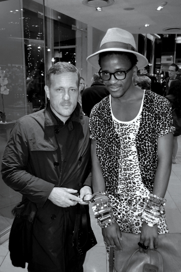 The Sartorialist & Jerri Mokgofe