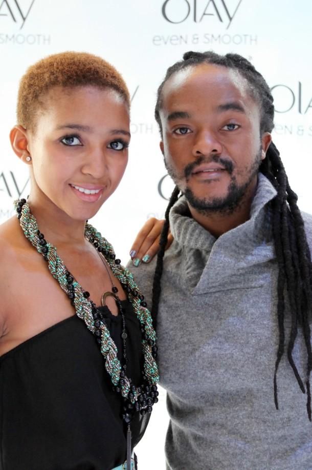 Kopano and Lebo Luke Warm