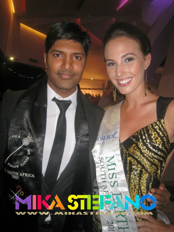 Mr South Africa and Miss Earth