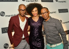 Lunga Shabalala also kept it casual in black and white… Not sure ...