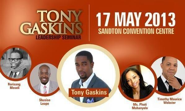 Tony Gaskins South Africa