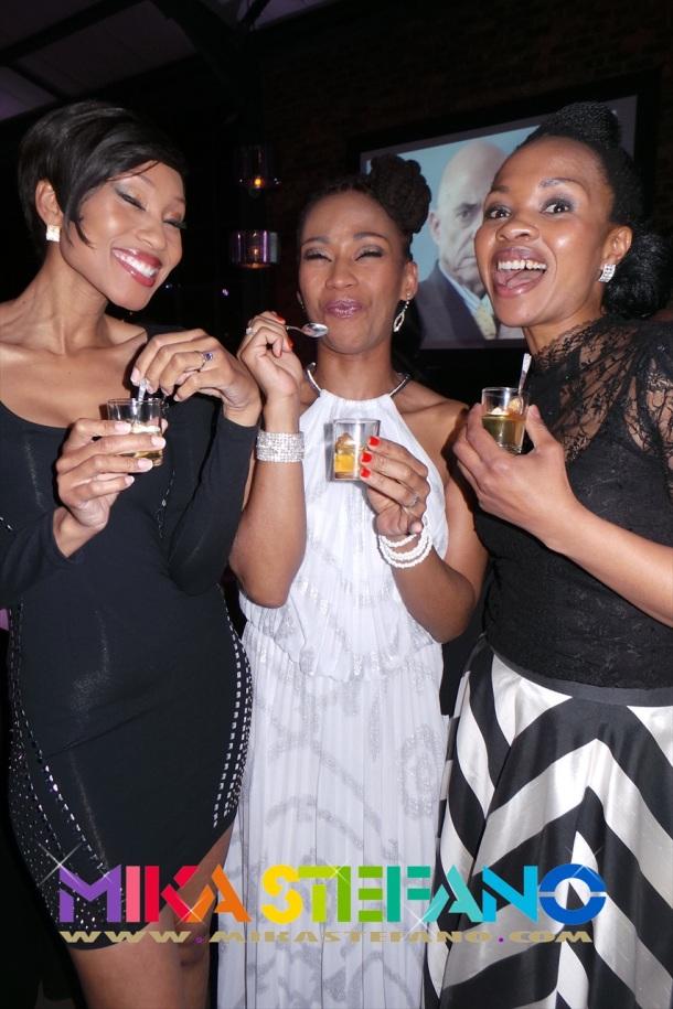 Kgomotso Christopher, Letoya Mangezi and Linda Sokhulu