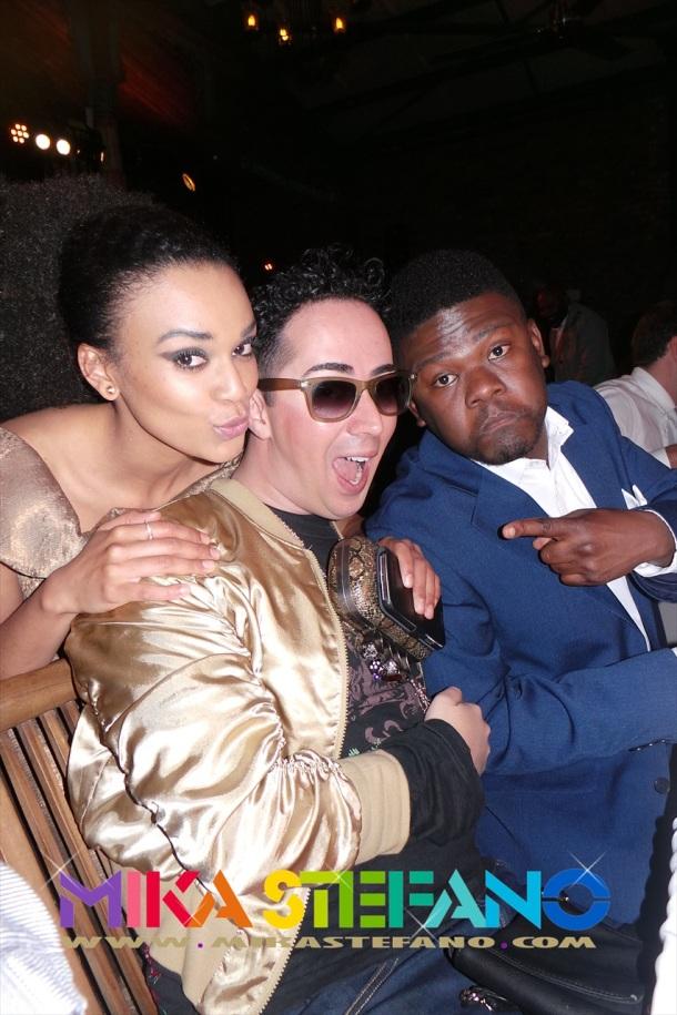 Pearl, Mika and Motlatsi Mafatshe