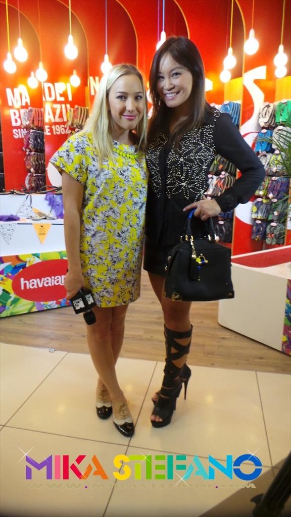 Roxy Burger and Jen Su